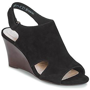 Shoes Women Sandals Clarks Raven Mist  black / Sde