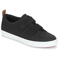 Shoes Women Low top trainers Clarks Glove Daisy  black / Combi / Nubuck