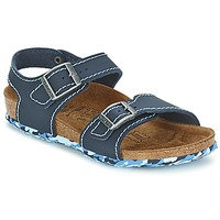 Shoes Girl Sandals Birki's NEW YORK BLUE