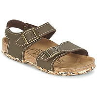 Shoes Girl Sandals Birki's NEW YORK Brown