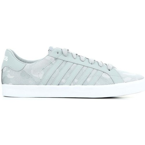Shoes Men Low top trainers K-Swiss Belmont Camo 03737-017-M grey