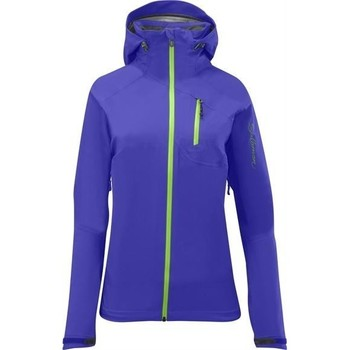 Clothing Women Fleeces Salomon QUEST HIKE TRIP 3 IN 1 120659 blue