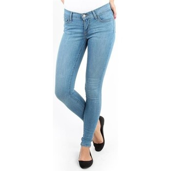 Clothing Women Skinny jeans Levi's Super Skinny Tranquil 17778-0035 blue
