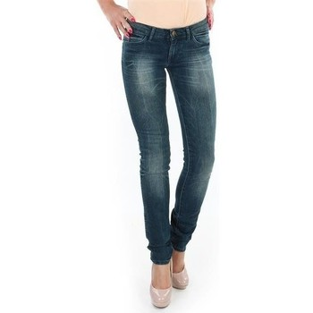 Clothing Women Skinny jeans Wrangler Spodnie  Molly 251XB23C blue