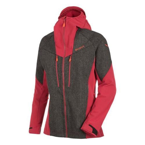 Clothing Women Macs Salewa Kurtka  Sesvenna WO/DST JKT 25230-0911 red