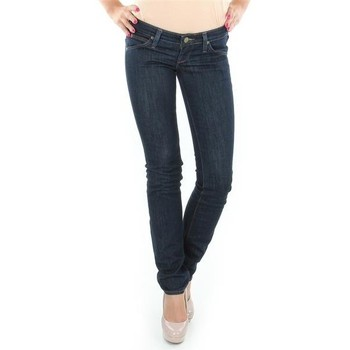 Clothing Women Straight jeans Lee Lynn L340AGNA black