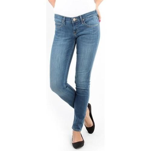 Clothing Women Skinny jeans Lee Spodnie Damskie  357SVIX Lynn  Skinny blue