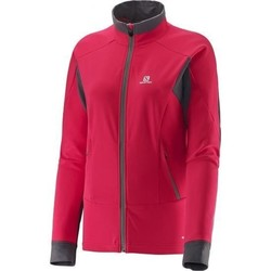 Clothing Women Jackets / Blazers Salomon Jacket  Momemtum Softshell 373961 pink