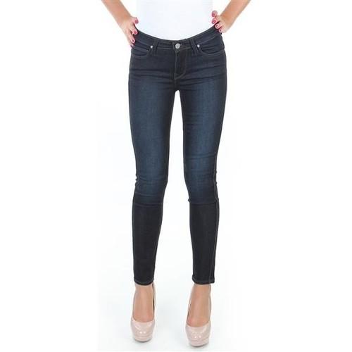 Clothing Women Skinny jeans Lee Spodnie  Scarlett L526SWWO blue