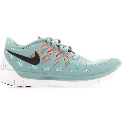 Shoes Women Low top trainers Nike WMNS  Free 5.0 642199-003 green