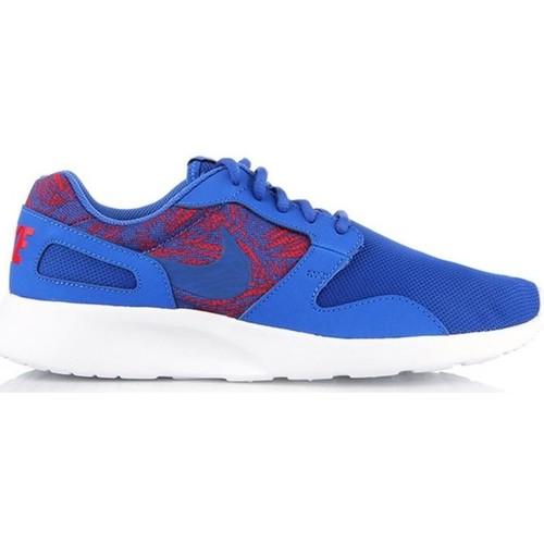 Shoes Men Low top trainers Nike Mens  Kaishi Print 705450-446 blue