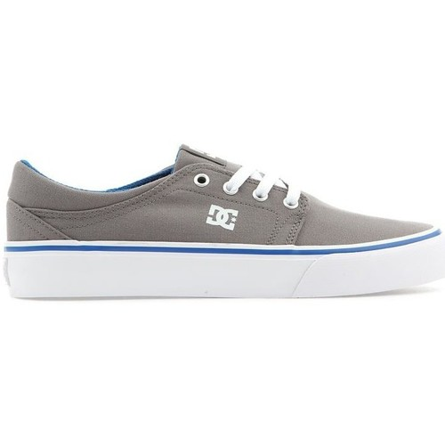 Shoes Men Low top trainers DC Shoes DC Trase Tx ADYS300126-GBF grey