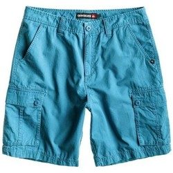 Clothing Men Shorts / Bermudas Quiksilver Bass Cargo AQYWS00092-BPC0 blue