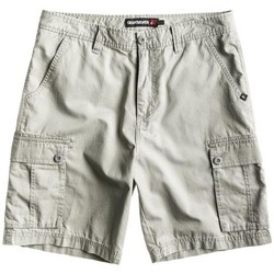 Clothing Men Shorts / Bermudas Quiksilver Bass Cargo AQYWS00092-SKT0 grey
