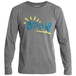 Clothing Men sweaters Quiksilver LS Tees EQYZT00004-KZEH grey