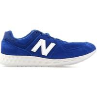Shoes Men Low top trainers New Balance MFL574FE blue