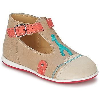 Shoes Children Sandals Citrouille et Compagnie GALENE Beige / Taupe