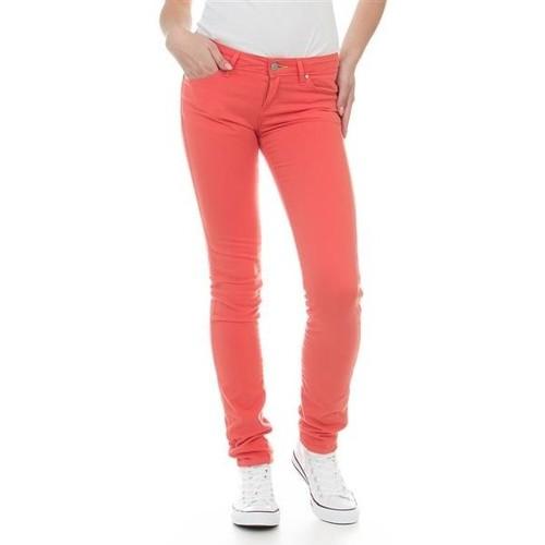Clothing Women Skinny jeans Wrangler Jeans  Molly Melon W251U229M red