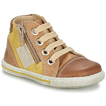 Shoes Children Hi top trainers Citrouille et Compagnie MIXINE Brown