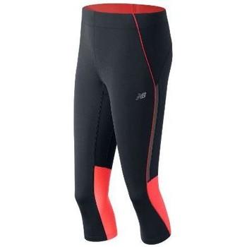 Clothing Women Tracksuit bottoms New Balance WP53222DAF blue