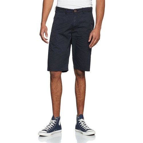 Clothing Men Shorts / Bermudas Wrangler Chino Shorts W14MLL49I granatowy