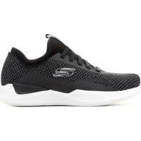 Shoes Men Low top trainers Skechers Matrixx Bransin 52662-BKW grey