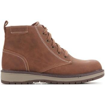 Shoes Children Mid boots Skechers Gravlen Brown 94060L-BRN brown