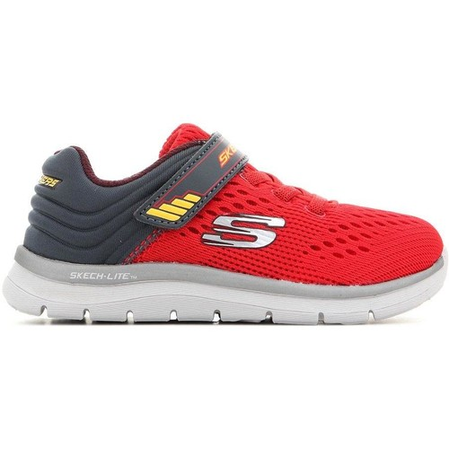 Shoes Children Low top trainers Skechers Skech-Lite-Micro 95054N-RDCC red