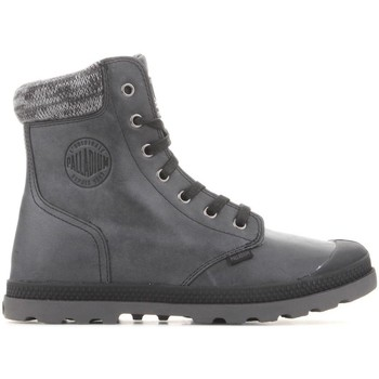 Shoes Women Mid boots Palladium Pampa Hi Knit  LP 95172-036-M grey