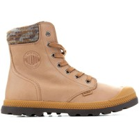 Shoes Women Mid boots Palladium Pampa Knit LP F 95172-720-M yellow