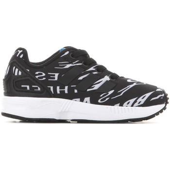 Shoes Children Low top trainers adidas Originals Adidas ZX Flux EL I BB2434 black