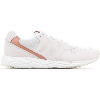 Shoes Women Low top trainers New Balance WRT96EAA white, brown