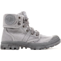 Shoes Women Hi top trainers Palladium US Baggy W 92478-066-M grey