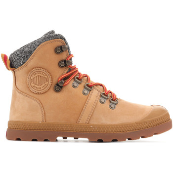 Shoes Women Mid boots Palladium Pallabrouse Hikr 95140-278 brown