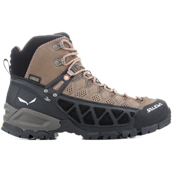 Shoes Women Walking shoes Salewa WS ALP FLOW MID GTX 63427-2719 brown