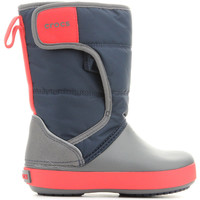Shoes Boy Wellington boots Crocs LODGEPOINT SNOW K 204660-4HE Multicolor