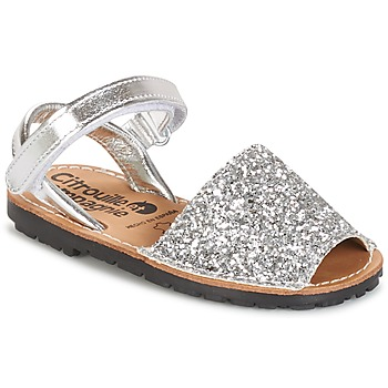 Shoes Girl Sandals Citrouille et Compagnie SQUOUBEL White