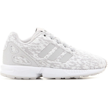 Shoes Children Low top trainers adidas Originals Adidas ZX Flux C BY9857 grey