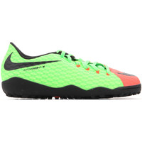Shoes Boy Football shoes Nike JR Hypervenomx Phelon III TF 852598 308 green