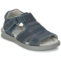 Shoes Boy Sandals Citrouille et Compagnie DERFO MARINE