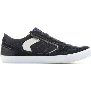 Shoes Men Low top trainers Geox U Box C - Suede+Nylon U82R3C 022FU C4002 granatowy