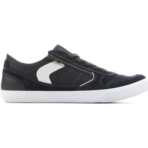 Shoes Men Low top trainers Geox U Box C - Suede+Nylon U82R3C 022FU C4002 navy