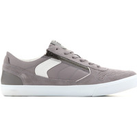 Shoes Men Low top trainers Geox U Box C - Suede+Nylon U82R3C 022FU C9007 grey