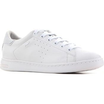 Shoes Women Low top trainers Geox D Jaysen A - Nappa D621BA 00085 C1001 white