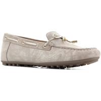 Shoes Women Low top trainers Geox D Leelyan A - SHI.Suede D724RA 00077 C2005 brown
