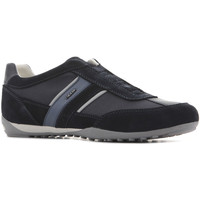 Shoes Men Low top trainers Geox U Wells A - U82T5A 02211 C4002 granatowy