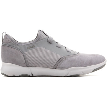 Shoes Men Low top trainers Geox U Nebula SA U825AA 02211 C9007 grey
