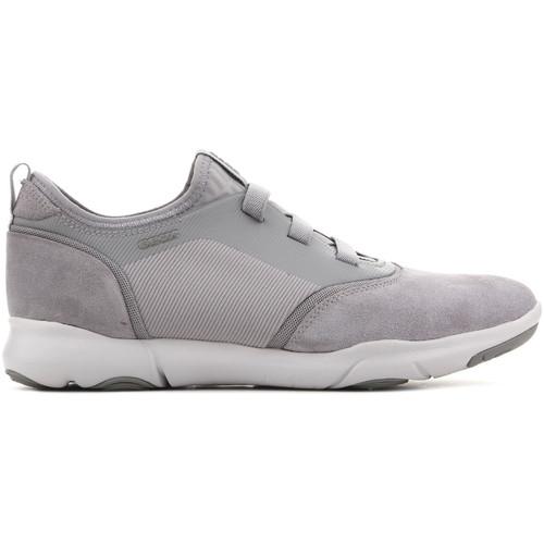 Shoes Men Low top trainers Geox U Nebula SA U825AA 02211 C9007 grey