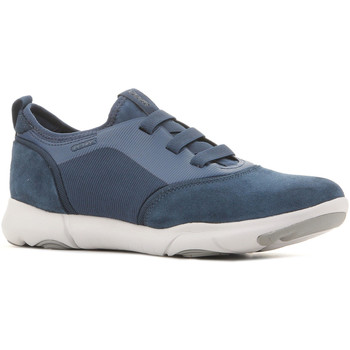Shoes Men Low top trainers Geox U Nebula U825AA 02211 C4000 granatowy