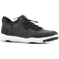 Shoes Men Low top trainers Geox U Nebula X A U826BA 0006K C9999 black